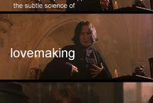 Harry Potter Stuff / by Heidi Stromberg