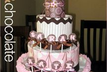 Baby Diaper Cakes! / Beautiful Diaper Cakes For Baby Showers, etc! / by MsAbigail