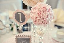 floral bouquets and center pieces / by Kristi Short