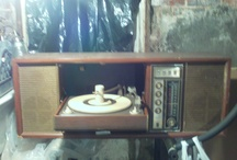 collectable / 60s stereos,model cars, vintage lamps, vintage cameras 1920s brochures etc. / by Phillip Grant