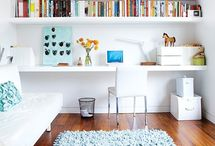 Home: Walk-in Closet / Office / by Sarah Hatcher-Peters