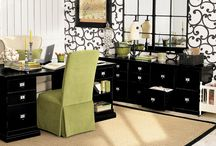 Home Office Inspiration / Need to redecorate our home office! / by Ashley @ A Crafty House