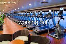 WORKIN IT OUT ,  GETTIN HEALTHY / by Debbie Higgs