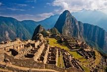 """Machu Picchu, Perú / Machu Picchu (Spanish pronunciation: [ˈmatʃu ˈpitʃu], Quechua: Machu Pikchu [ˈmɑtʃu ˈpixtʃu], """"Old Peak"""") is a pre-Columbian 15th-century Inca site located 2,430 metres (7,970 ft) above sea level.[1][2] Machu Picchu is located in the Cusco Region of Peru, South America. It is situated on a mountain ridge above the Urubamba Valley in Peru, which is 80 kilometres (50 mi) northwest of Cusco and through which the Urubamba River flows. / by Urbita (www.urbita.com) - I love this place!"""