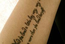 Tattoos / by Hala Bimbachi