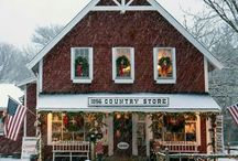 General Store / ~ Oh how I would love to own and run an old general store with rows and rows of nickel candy jars ~ / by Berry Homespun Primitives