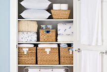 storage-organization-practical ideas / by Irene Turner Real Estate Sonoma Style™