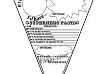 Super hero theme / by Alma Avalos