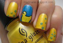 fun nail idea's / by Tonia Carlsen