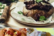 gluten free main courses and sides / by Valerie Mattingly
