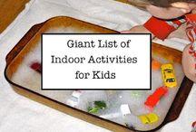 Kid activities / by Kelsey Gensmer
