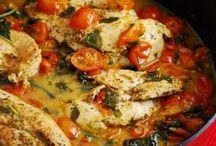 Chicken recipes / by Nikki Brodbeck