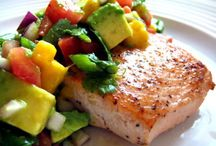 Pescetarianism / Seeing as I can't digest any meat (but fish) I might as well embrace it, and accept it.  My pescetarian lifestyle starts now.  / by Laura Cameron