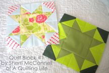 Virtual Quilting Bee Blocks / by Gwendellyn H