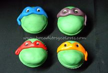 Teenage Mutant Ninja Turtle Party / by Mandi Ardry