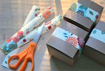 Cadeau's inpakken / by Antje Rienks - van Leeuwen