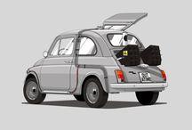 Vehicles - Chibi / by Nick Porcino