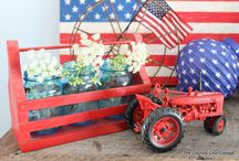Red White and Blue / by Courtney Whisman