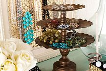 Jewelry holders / I want a way to display my jewelry so I will wear it / by Suzi Corwith