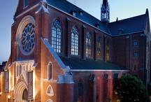 Martin's Hotel / De iglesia del s.XIX a prestigioso hotel en el centro histórico de Mechelen / by URBATEK ™