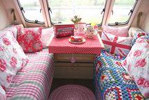 Our caravan and tent / by Vikki Sponge