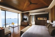 "One Bedroom Pool Villa / Conrad Koh Samui features 65 Contemporary Thai-inspired one bedroom villas with touches and accents that reflect the Conrad brand's promise of ""Smart Luxury."" / by Conrad Koh Samui"