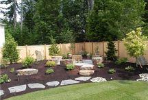 Backyard ideas / by Tiffany Gorum