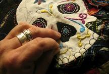 cloth whispers / fiber arts and generally stitchery / by Joe M.