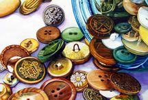 Buttons and other clothing fasteners / by Candy Rick