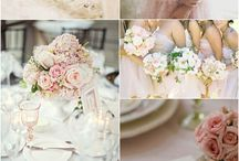 Champagne & Blush Wedding Colors / by {AO3} DESIGNS