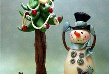 CLAY CHRISTMAS / by Debra McCloud
