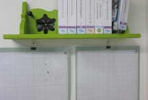 Organized wall station / by Laura Bunker