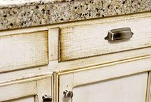 Cabinet and Wall ideas for the kitchen / by Elise Hutchison