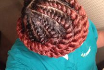 All about hair / by Marilyn Pierre