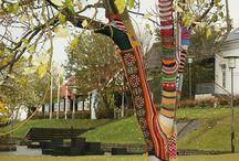 Yarn Art / by Dora Ficher Art