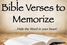 Bible verses / by Elaine Baker