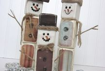 Snowman Crafts / by Aunt Jennie's Attic