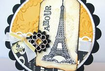 .Cards-Cities: Paris/ French / by Chatterbox Creations (Carlene Prichard)