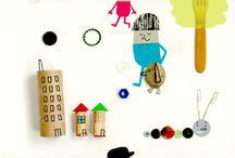 Art & Illustration / by Petit Eco Kids