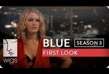 "Blue Season 3 / ""Blue"" Season 3 live now Hulu! Hulu.com/Blue / by WIGS"
