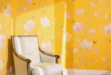 Wallpaper Florals / by Chicken Doodle