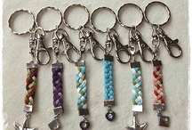 I made these - keychains / by Bunny Bags