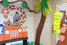 Jungle Theme Classroom / by Allison Harper
