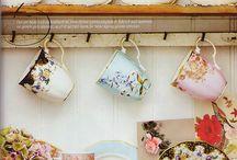Tea cups / by Courtney Cloe