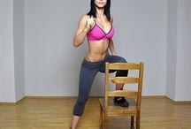 Workin' on my fitness / by Christina Yoshimura