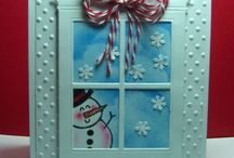 cards Christmas and Winter / by Julie Robinson
