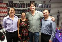 Training Day (8.29.13) / Training day with @etiqueretailers. Learning about #CaliforniaExotica, #BlushNovelties, #WetLubricants, #IDLube, and #Lelo / by Honey's Place