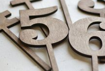 table numbers / by Kristen Spencer