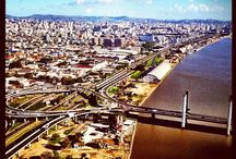 Porto Alegre / Porto Alegre (local Portuguese pronunciation: [ˈpoɾtʊ aˈlɛɡɾɪ] ( listen);[1] Happy Harbour) is the capital and largest city in the Brazilian state of Rio Grande do Sul. / by Janete Vargas