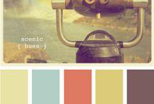 Inspiration - Color Schemes / by TabithaFJ -  The Prop Junkie